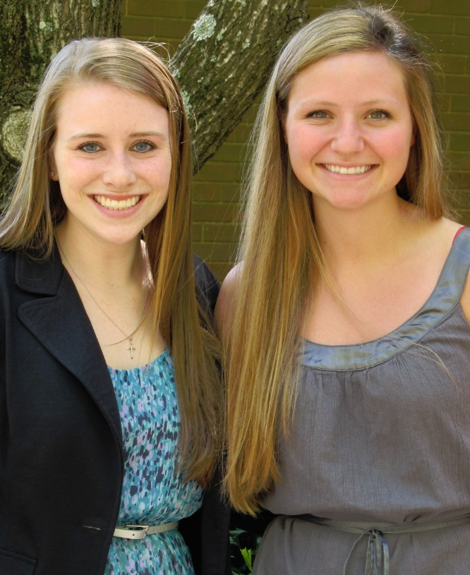UGA study abroad scholarship recipients Alexandra Howell and Laurel Hire